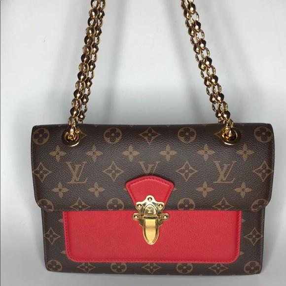 Louis Vuitton Bags Authentic Victoire Cherry Red Poshmark